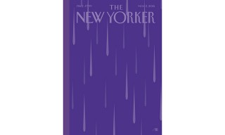 "'The New Yorker' Honors Prince With a ""Purple Rain"" Cover"