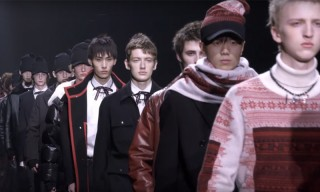 "Dior Homme Presents FW16 Collection With ""The Art of Falling Apart"" Show in Hong Kong"