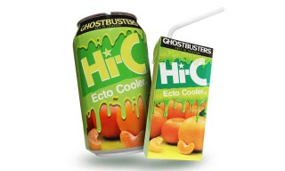 Hi-C Is Bringing Back the Ghostbusters-Themed Ecto Cooler Drink
