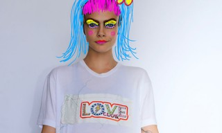 'LOVE' Magazine Teams up With Itchy Scratchy Patchy for Girl-Powered Collection