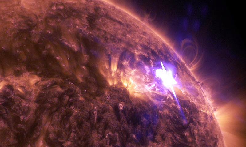 solar flares today nasa warning - photo #15