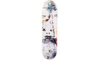 Harmony Korine & Dee Ostrander Team up for Custom Baker Skate Deck