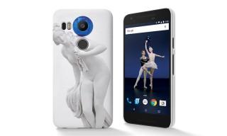 "Jeff Koons Creates Limited-Edition ""Live"" Nexus Phone Cases"