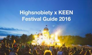 Highsnobiety x KEEN Festival Guide 2016