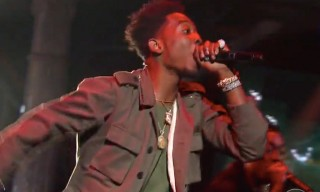 "Desiigner Performs ""Panda"" on 'The Late Show'"