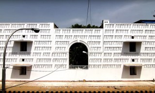 Daku's Latest Street Art Installation Uses Sunlight Instead of Colors