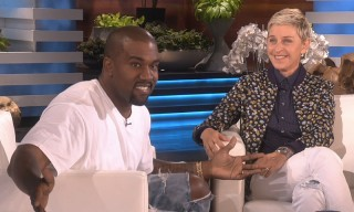 Kanye West Hit Peak Kanye With This Epic Sermon on 'The Ellen Show'