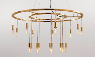 Santa & Cole Reissue Vaghe Stelle Chandelier for 30th Anniversary