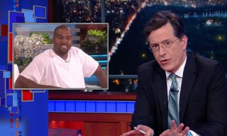 Watch Stephen Colbert Parody Kanye West's Intense Ellen Interview