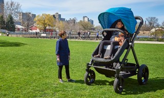 Adult-Sized Strollers May Be the Coziest Way to Get Around