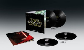 The 'Star Wars: The Force Awakens' Vinyls Come With Floating Holograms