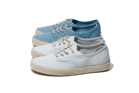 8ba1a7dc451 The Vans Classics Authentic Espadrille Is the Epitome of Casual ...