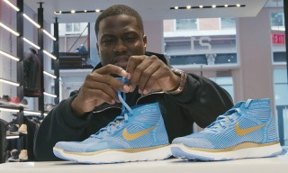 Kevin Hart Goes Sneaker Shopping & Reveals He Once Pooped His Pants