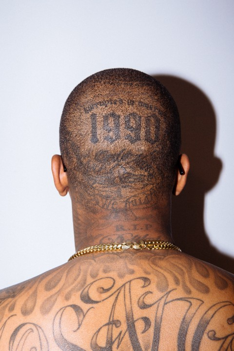 yg shares the stories behind his most treasured tattoos. Black Bedroom Furniture Sets. Home Design Ideas