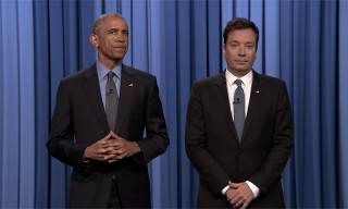 Obama Slow Jams the News One Last Time on 'The Tonight Show'