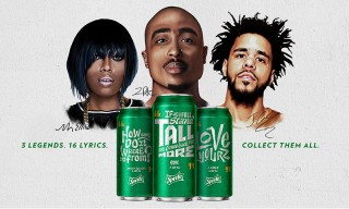 "Sprite Teams up With 2Pac, Missy Elliott and J. Cole for ""Obey Your Verse"" Campaign"