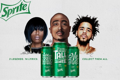 Sprite Teams Up With 2pac Missy Elliott And J Cole For Campaign