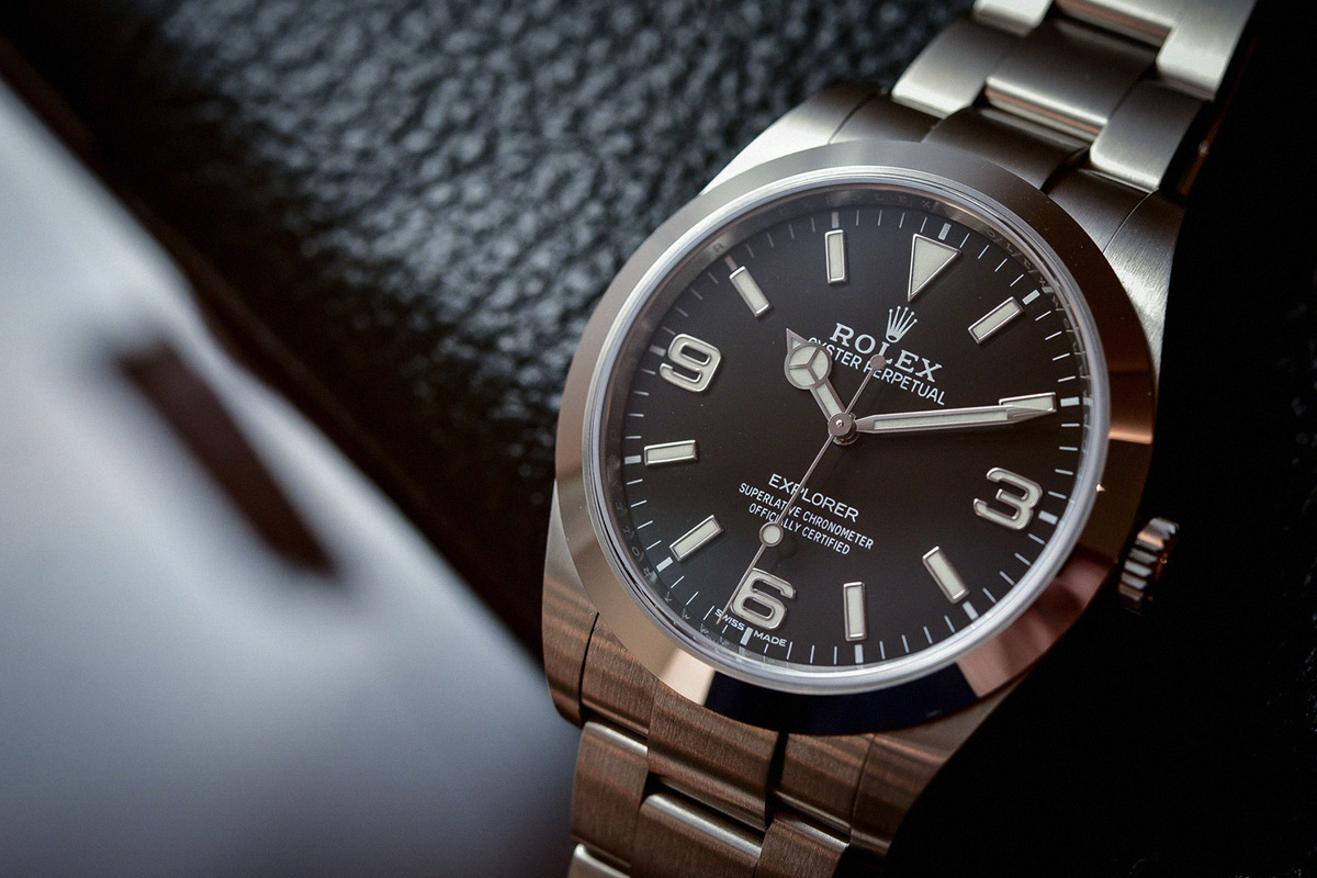 Rolex Watch Mens New