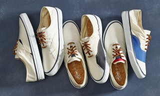 "Sperry & Barneys Partner for Limited Edition ""Sailcloth"" CVOs"