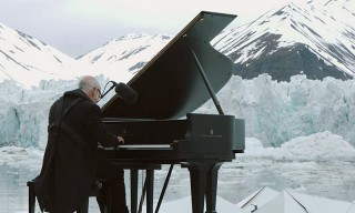 Pianist Gives Historic Floating Iceberg Performance on the Arctic Ocean
