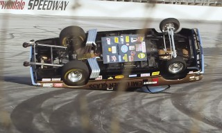 "Jay Leno's ""2,500 HP on 2 Wheels"" Car Stunt Goes Horribly Wrong"