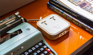 Woodie Hub Is a Stylish Solution to Ugly Power Strips