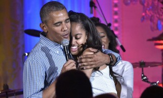 Kendrick Lamar & Janelle Monáe Join President Obama to Sing Happy Birthday to Malia