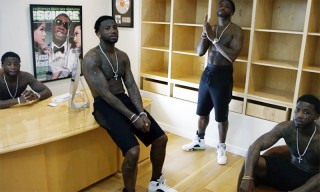 "Gucci Mane Clones Take Over His Luxurious Mansion in ""First Day Out Tha Feds"" Video"