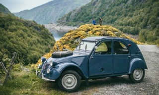 Imagining the Past Life of a Beautifully Restored Citroen 2CV