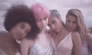 "Stella McCartney Shares Full ""POP"" Campaign Starring Grimes"