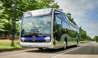Autonomous Mercedes-Benz Bus Is the Future of Public Transportation