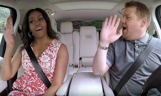 "Michelle Obama Does a Mean Beyoncé on ""Carpool Karaoke"""