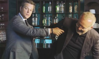 Matt Damon Shows You How to Win a Bar Fight