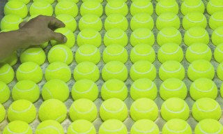 Watch How a Tennis Ball Is Created in the Wilson Factory