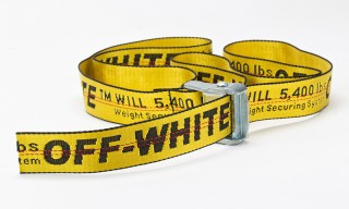 "OFF-WHITE's ""Industrial Belt"" Is Finally Getting an Official Release"