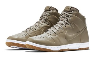 Nike's New Dunk CRFT Gets a Seamless Leather Upper