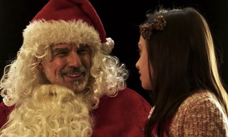 The Heavy Drinking & Hilariously Offensive Santa Claus Returns in 'Bad Santa 2'