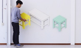 This Furniture Transforms Into Clever Two-Dimensional Art