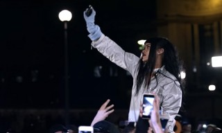 """Rihanna Meets Her Fans in Paris in the Visual for """"Goodnight Gotham"""""""