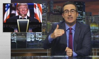 "John Oliver Calls Trump a ""Sociopathic Narcissist"" After the DNC"