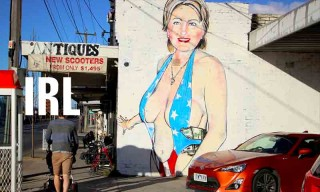 IRL: August 2, 2016 | Bikini-Clad Hillary Clinton Mural Given Islamic Makeover & Other News