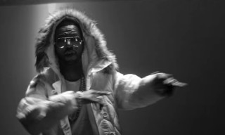 "Juicy J & Travis Scott Link up in the Music Video for ""No English"""