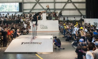 "Watch Skateboarders Compete in Dime and Vans's Insane ""Glory Challenge"""