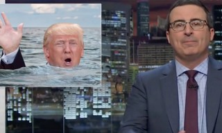 Trump Claims ISIS Remarks Were Sarcastic, John Oliver Responds