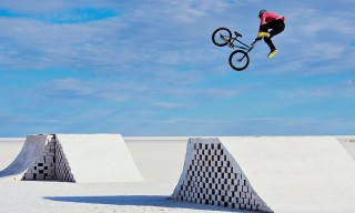 BMX Legend Daniel Dhers Catches Sick Air on the World's First BMX Salt Park