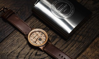 This Limited Edition Watch Is Made Using Jim Beam Bourbon Barrel Wood