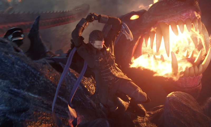 watch the first 12 minutes of the new final fantasy movie