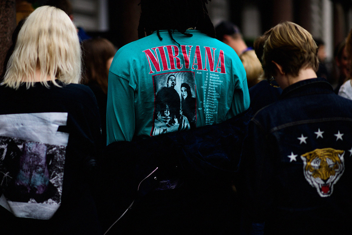 The Vintage Band T Shirt Trend Is Officially Dead