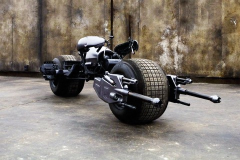 Batman's Batpod Motorcycle From 'The Dark Knight' Is Going up for Auction