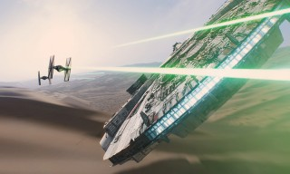 Go Behind the Magic of the Amazing Visual Effects in 'Star Wars: The Force Awakens'